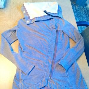 Lululemon Wrap Jacket with Snaps/Drape Neck